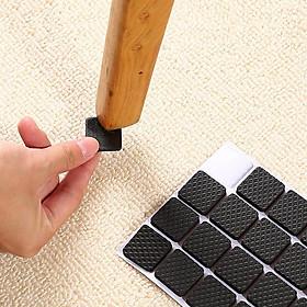 Bộ 30 miếng dán lót chân bàn, ghế, giường, tủ chống trơn trượt và trầy xước
