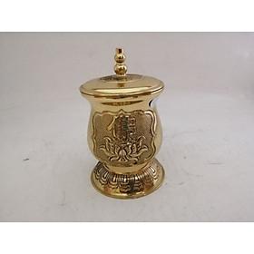 Chóe nước Phật Sen bằng đồng Trung