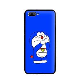 Ốp lưng mẫu đẹp cho điện thoại Realme C1 - Viền dẻo - 02093 0185 DOREMON02 - Hàng Chính Hãng