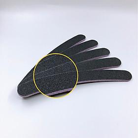 Set 5 dũa móng tay cong - độ nhám 100/100