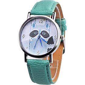 Quartz Watch Wrist Watch Casual Leather Band Clock Wristwatch Gifts
