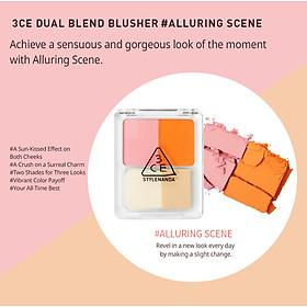 Phấn má 3CE Dual blend blusher - ALLURING SCENE-1