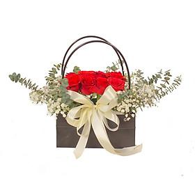 Giỏ hoa tươi - Aloha 4320