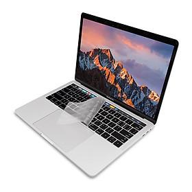 Phủ bàn phím MacBook Pro Touch Bar 13 / 15 inch hiệu JCPAL FitSkin - Trắng - Hàng chính hãng