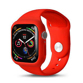 Dây Đeo Bảo Vệ Đồng Hồ Silicone Apple Watch Series 4 (40/44mm)