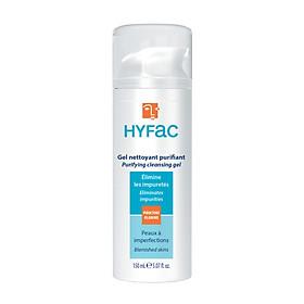 Combo 2 Chai Sữa Rửa Mặt Hyfac Purifying Cleansing Gel 150ml - Nhập khẩu từ Pháp