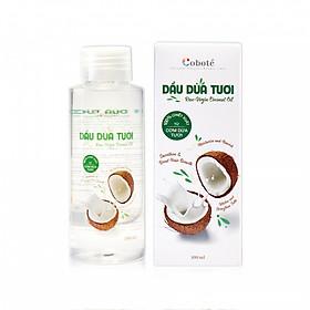 Dầu dừa tươi™ đa năng Coboté - 100% cơm dừa tươi Bến Tre - Công nghệ HPC - Không hóa chất, không nhiệt độ - Cực tốt cho da & tóc