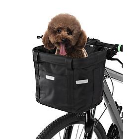 Giỏ xe đạp đa năng chống thấm với khung chắc chắn có thể tháo rời
