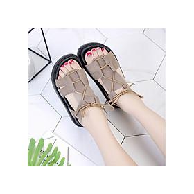 Dép sandal nữ dây thừng trẻ trung, năng động TRT-SDNU-10