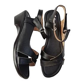 Giày Sandal Nữ BIGGBEN Da Bò Thật SDN20
