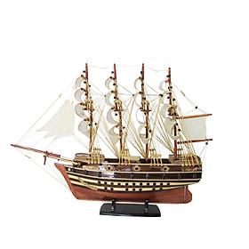 Mô hình thuyền gỗ trang trí Jylland - thân 40cm - loại 1