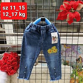 Quần bò, quần jean dài cho bé trai, bé gái size nhí (1-4 tuổi)