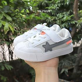 Giày thể thao cho bé trai, bé gái màu trắng từ 1 - 4 tuổi PD310
