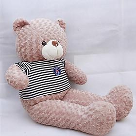 Gấu bông Teddy ICHIGO khổ vải 1m2 màu Sữa