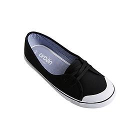 Giày Sneaker Urban Nữ Buộc Dây UL1706 - Đen