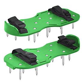 Lawn Aerator Shoes Garden Loosen The Soil Nail Shoes