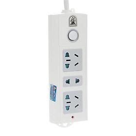 Bullet TS-033 3 position 1.5 m child protection door power socket / plug / power strip / plug / board / tow board