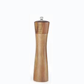 Dụng cụ xay hạt tiêu vỏ gỗ tự nhiên, lọ xay tiêu cho gia đình và nhà hàng (GA07)