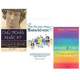 Combo 3 cuốn: Chủ Nghĩa Khắc Kỷ - Phong Cách Sống Bản Lĩnh Và Bình Thản + Thay Đổi Cuộc Sống Với Nhân Số Học + Power Vs Force - Trường Năng Lượng Và Những Nhân Tố Quyết Định Tinh Thần Và Sức Khỏe Con Người