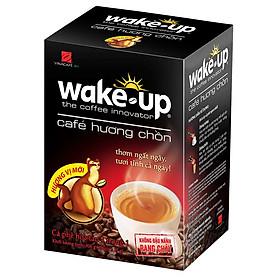 Cà Phê Wake Up Hương Chồn Vina Café (Hộp 18 Gói x 17gr)