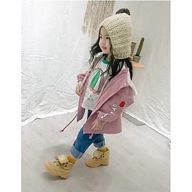 Áo khoác bé gái Quảng Châu form lớn từ 1 đến 7 tuổi 01672