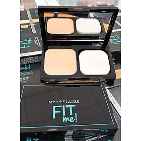 Phấn Nền Maybelline Fit Me Skin-Fit Powder Foundation 9gr Siêu Mịn Màng PM714-9