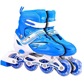 Giày trượt Patin có đèn led siêu cool Thép Carbon