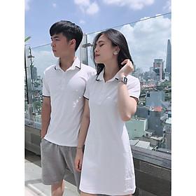 Set đồ đôi áo váy cặp CoupleTina 100% cotton cao cấp