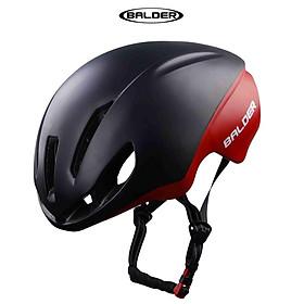 Nón bảo hiểm xe đạp thể thao BALDER TT1 B79 cao cấp ĐEN ĐỎ