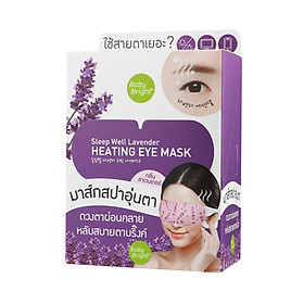 Mặt nạ ngủ mắt Baby Bright Sleep Well Lavender heating Eye Mask
