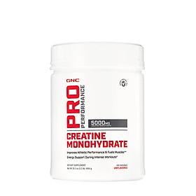 Thực Phẩm Bổ Sung GNC Pro Performance Creatine Monohydrate Unflavored 200 Khẩu Phần
