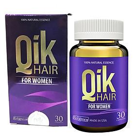 Thực Phẩm Chức Năng Viên Bổ Tóc Cho Nữ Qik Hair For Women Hộp 30 viên