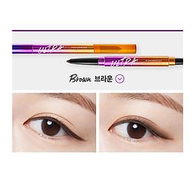 Chì Kẻ Mắt Không Trôi 2 Đầu Missha Ultra Powerproof Pencil Eyeliner 8g