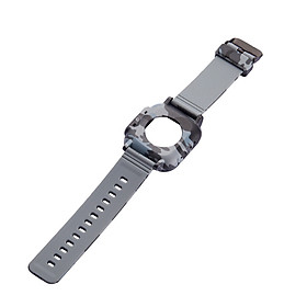 〖Follure〗For Apple Watch Series 3/2/1 Strap Silicone Waterproof Strap + Frame 42mm