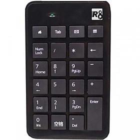 Bàn phím số có dây R8 Cổng kết nối USB