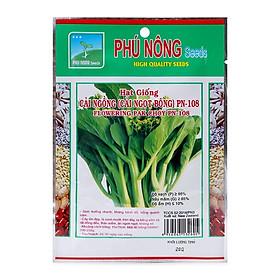 Hạt giống Cải ngồng ( Cải Ngọt Bông ) PN-108 Phú Nông - (20g/Gói)