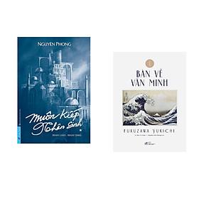 Combo 2 cuốn sách:  Muôn Kiếp Nhân Sinh (Bìa Cứng) + Bàn về văn minh