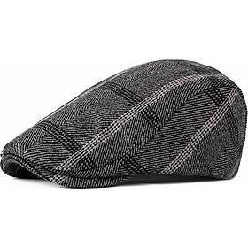 Mũ beret nam chất liệu dạ dày dặn phong cách Hàn Quốc BR029