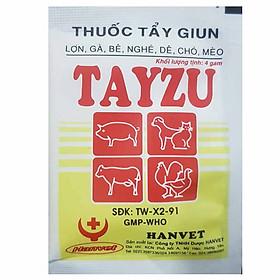 Tẩy giun cho chó mèo dạng bột không đắng - Hanvet Tayzu 4g