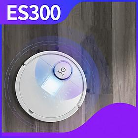 Robot hút bụi lau nhà thông minh ES300 bản nâng cấp – Lau nhà tự động hút sạch mọi ngóc ngách trong nhà – Hàng nhập khẩu