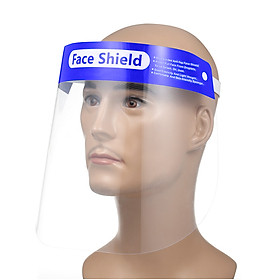 Face Shield Reusable Transparent Safety Face Ma-sk Antifog Dustproof Fluid Resistant Full Protective Ma-sk Visor