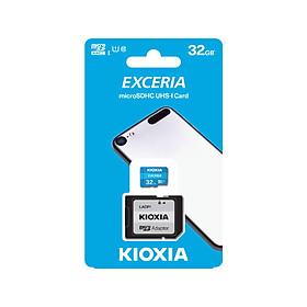 Thẻ nhớ MicroSD 32GB Kioxia Exceria 100/15 MBs - Hàng chính hãng