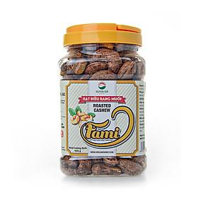 [Hạt Điều Rang Muối A+] Hạt Điều Rang Muối Vỏ Lụa, Hạt Điều Rang Muối A Cồ, Hạt Điều Rang Muối Size A+ 400 Hạt/ 1 Kg - Hộp Nắp Vặn 450g - Hạt Dinh Dưỡng Cao Cấp Fami Nuts