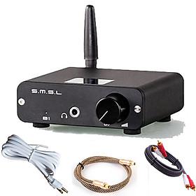 Ampli S.M.S.L Kiểm bộ giải mã DAC B1 Giải mã âm thanh Bluetooth chất lượng cao đầu ra 3.5 headphone - AV - Optical Âm thanh quang + tặng Bộ Phụ kiện dây lấy nhạc - AV 2 đầu - Dây Quang Vàng - Hàng Nhập Khẩu
