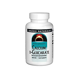 Source Naturals - Calcium D-Glucarate, 500 mg