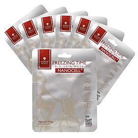 Hộp 7 mặt nạ da sinh học ngăn ngừa lão hóa COKO freezing time Bio Skin Nanocell Mask