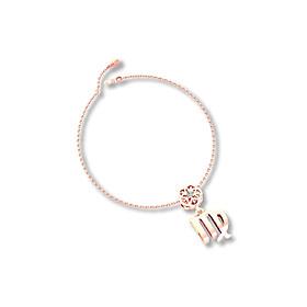 Mặt charm cung hoàng đạo Xử Nữ vàng hồng 14K DOJI 0219P-LAL363-PG (không bao gồm dây)