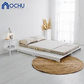 Giường Ngủ Pallet Gỗ Thông OCHU - Pallet Bed - White