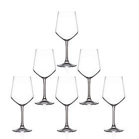 Bộ 6 ly rượu vang Pha lê Ý RCR Universum 550ml