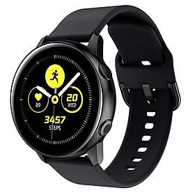 Dây Cao Su Cho Galaxy Watch Active 2, Active 1, Galaxy Watch 42 Size 20mm